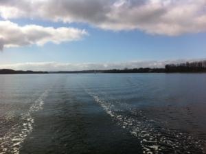 our wake up through Alssund