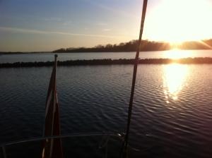 Sundown in Dyvig