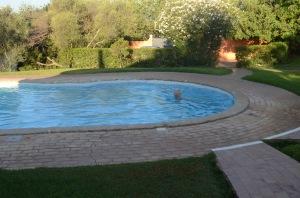 Vinni's morning swim
