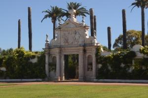 Entrance to back gardens