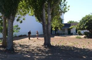 Retired vineyard workers