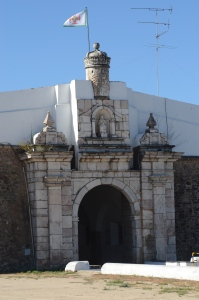 Portal for entering the city