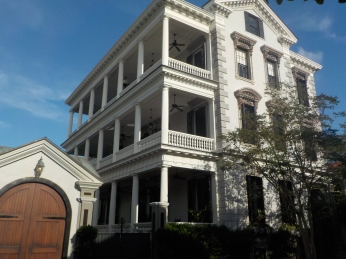 Typical antibellum Charleston houses